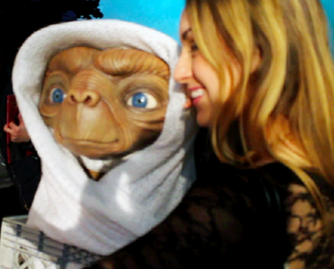 Madam Tussauds Tracy Kiss & E.T