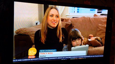 Tracy Kiss Speaking On Good Morning Britain ITV