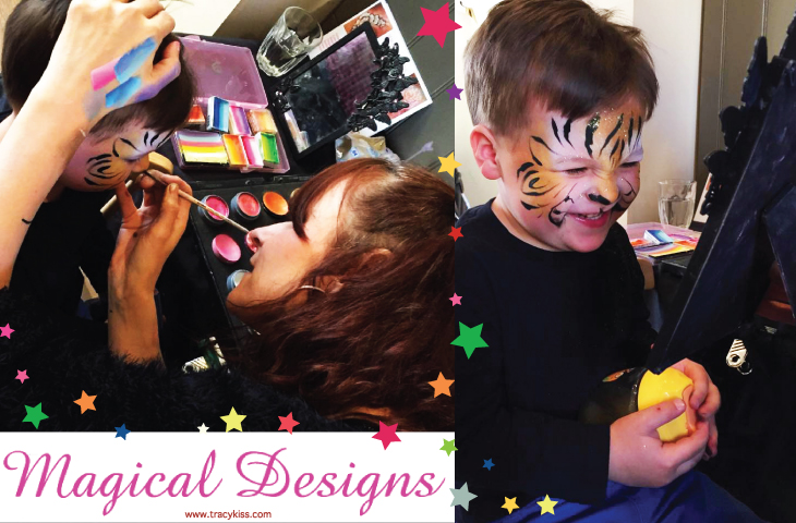 Magical Designs Face Painting, Nail Art, Glitter Tattoo's & Henna