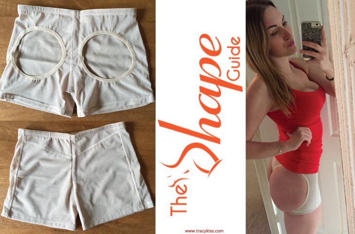 The Shape Guide Beige Butt Lifter Bum Bra Shorts