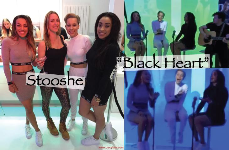Stooshe Live In London Performing Black Heart