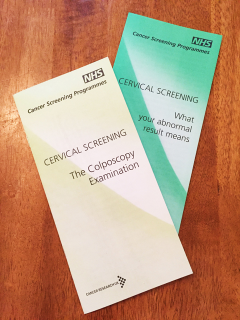 The NHS Information Booklets I Have Received About Cervical Screening