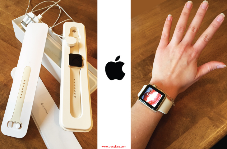 Apple Watch In Gold & Ivory