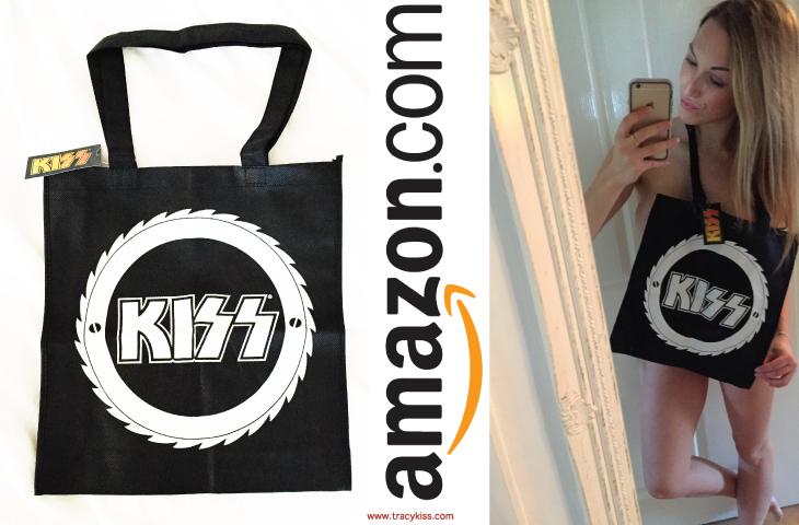 Amazon Wishlist Canvas Kiss Bag