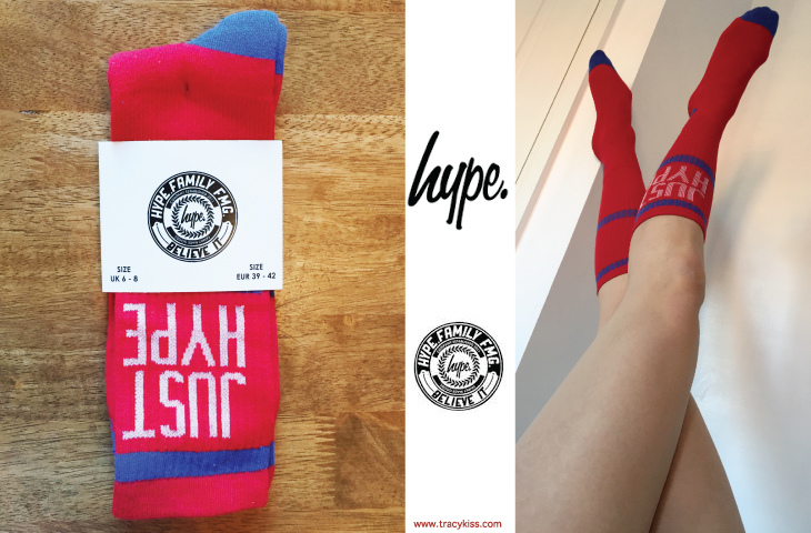 Just Hype Red Tennis Socks