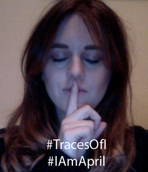Megan Sharp #TracesOfI #IAmApril
