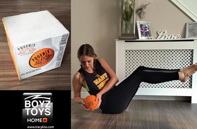 BoyzToys Phoenix Fitness Medicine Ball