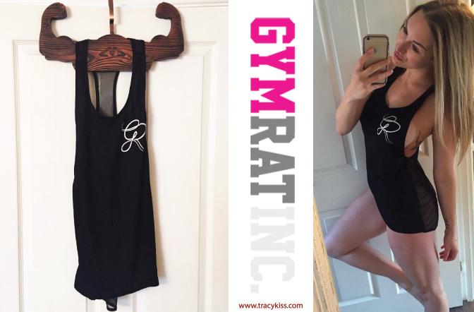 Gym Rat Inc Black Mesh Razer Back Vest