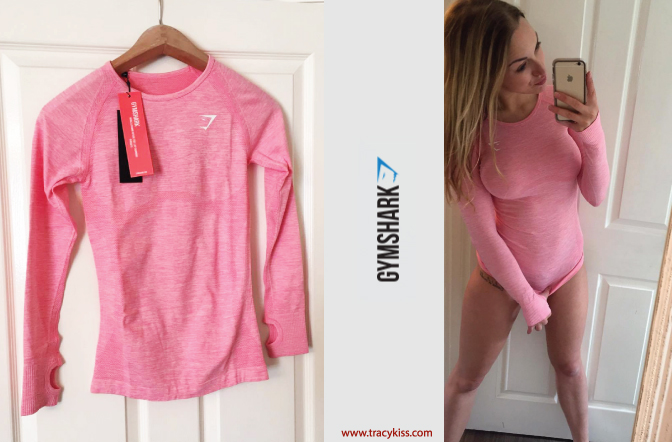 Gymshark Sorbet Pink Long Sleeve T-Shirt