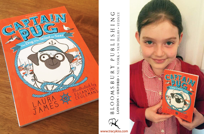 Bloomsbury Children's Books Captain Pug by Laura James