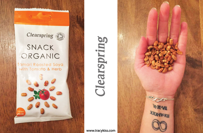 Clearspring Snack Organic Tamari Roasted Soya With Tomato & Herb