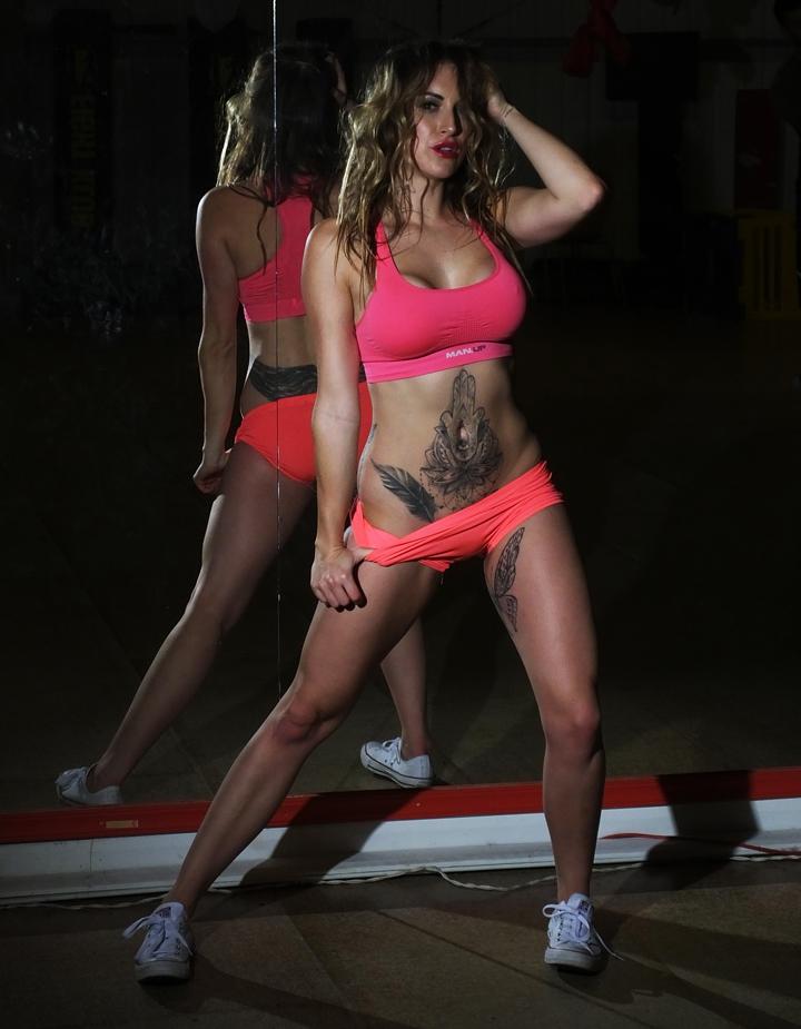 Tracy Kiss For Pegasus Gym