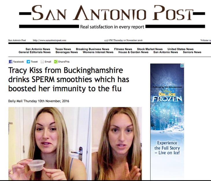 Tracy Kiss San Antonio Post