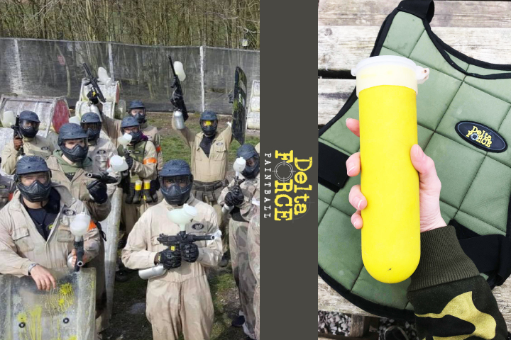 Delta Force Paintball: Watford - Tracy Kiss