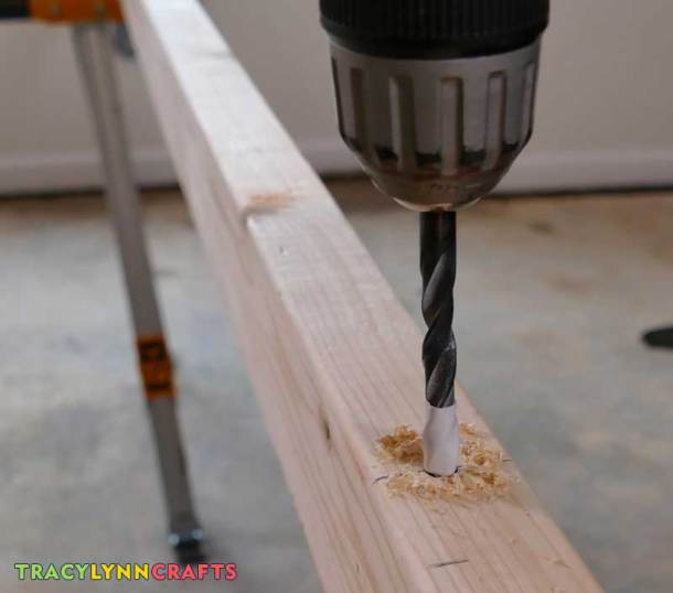 Marking the drill bit keeps you drilling the the correct depth.