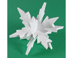 3D Craft Foam Snowflake