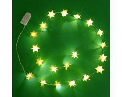 Deck the Halls with these LED Paper Stars