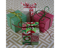 Make and fill these decorative paper boxes