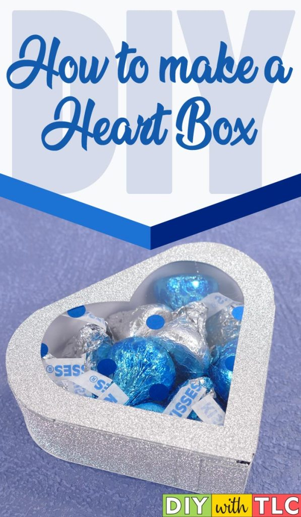 You can learn to make these adorable heart boxes for your special occasions | #heart_box #heart_boxes #wedding_favor #valentine #bridal_shower #cricut #diy #paper_box