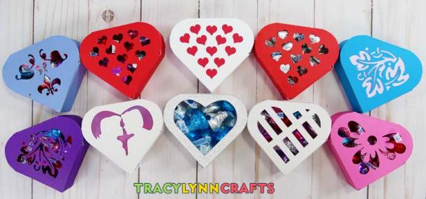 And many more ways to make the paper heart boxes