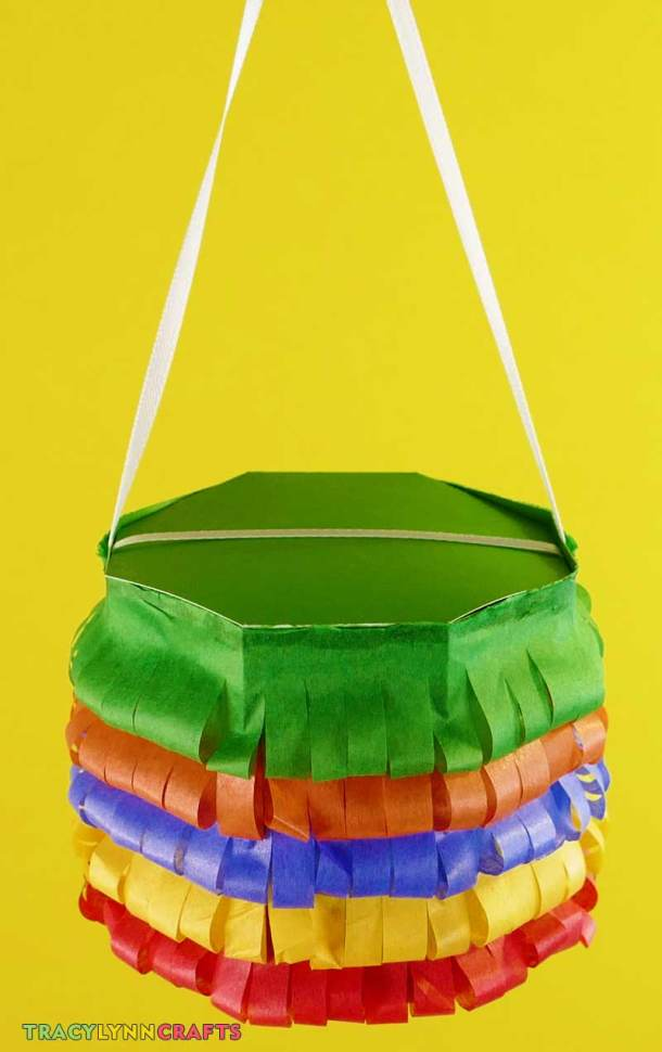 Hang your Cinco de Mayo party favors as decorations