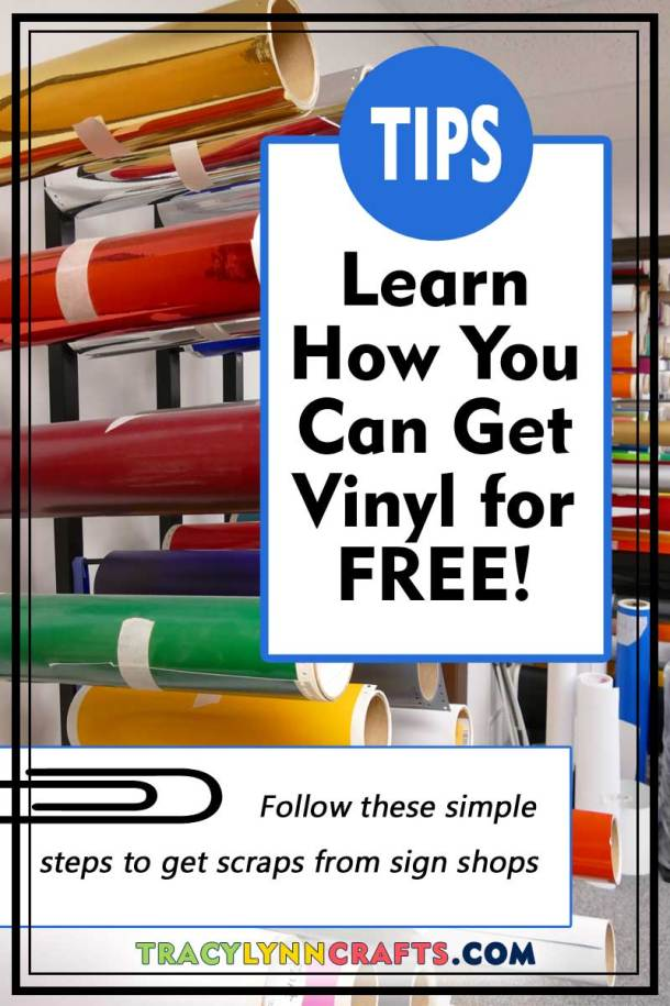 Are you tired of wasting money on test cuts? Learn how you can get vinyl for Cricut projects for FREE or nearly free!