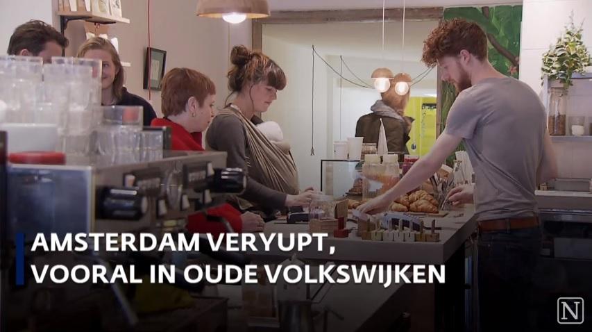 Interview Nieuwsuur over gentrification