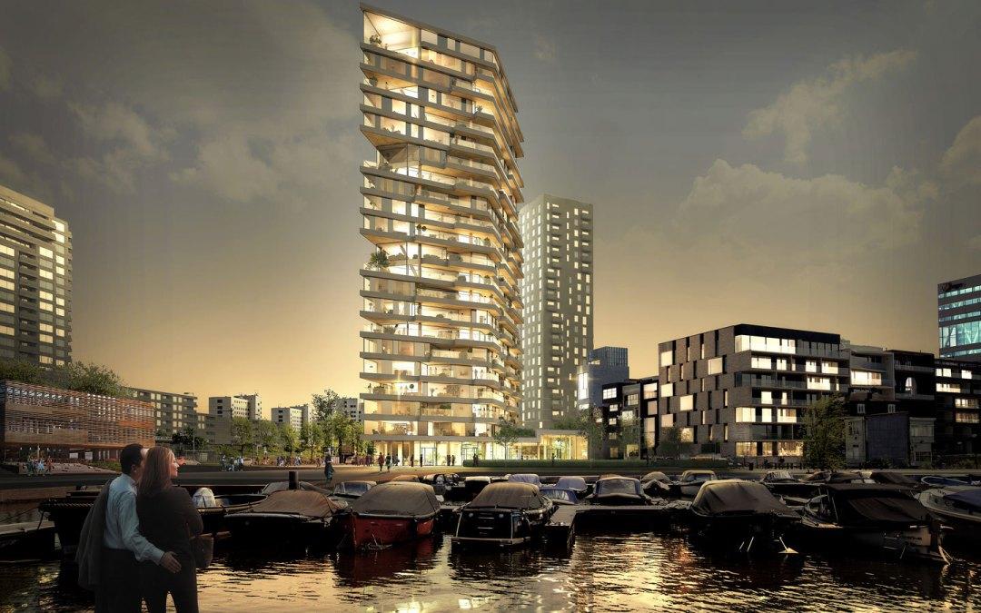 De stad in De Ochtend: Houten architectuur, het nieuwe beton