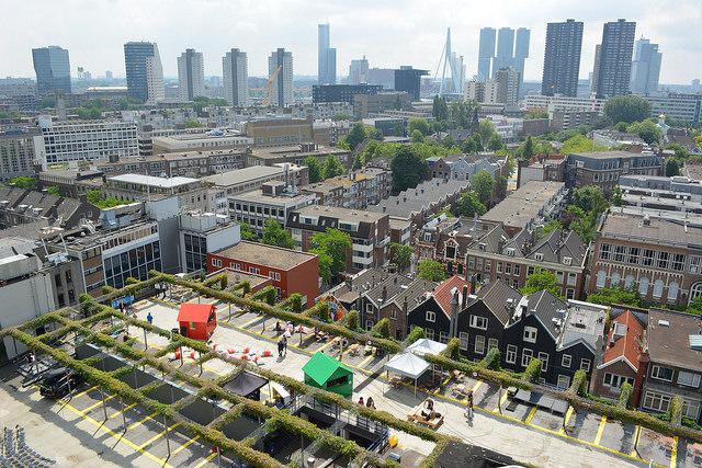De Stad in de Ochtend: Je kan 't dak op!