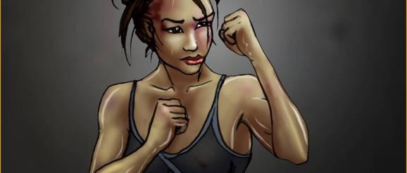 Tracy Queen - 2009/12/03 - Martial Arts - I train Hard