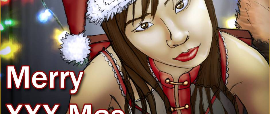 Tracy Queen - Merry XXX-Mas - Christmas Card! - 2012-12-25-web
