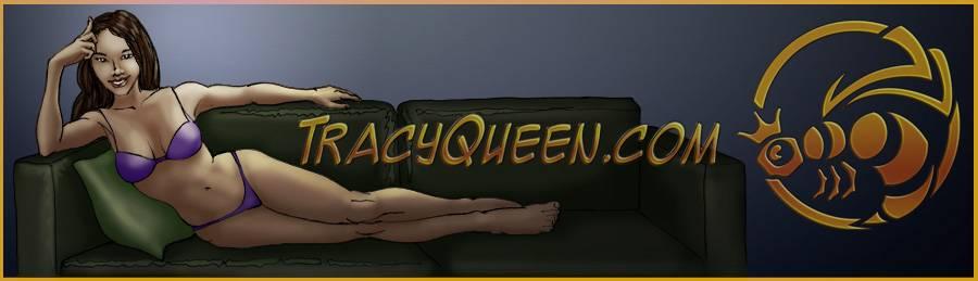 Tracy Queen – Website Banner