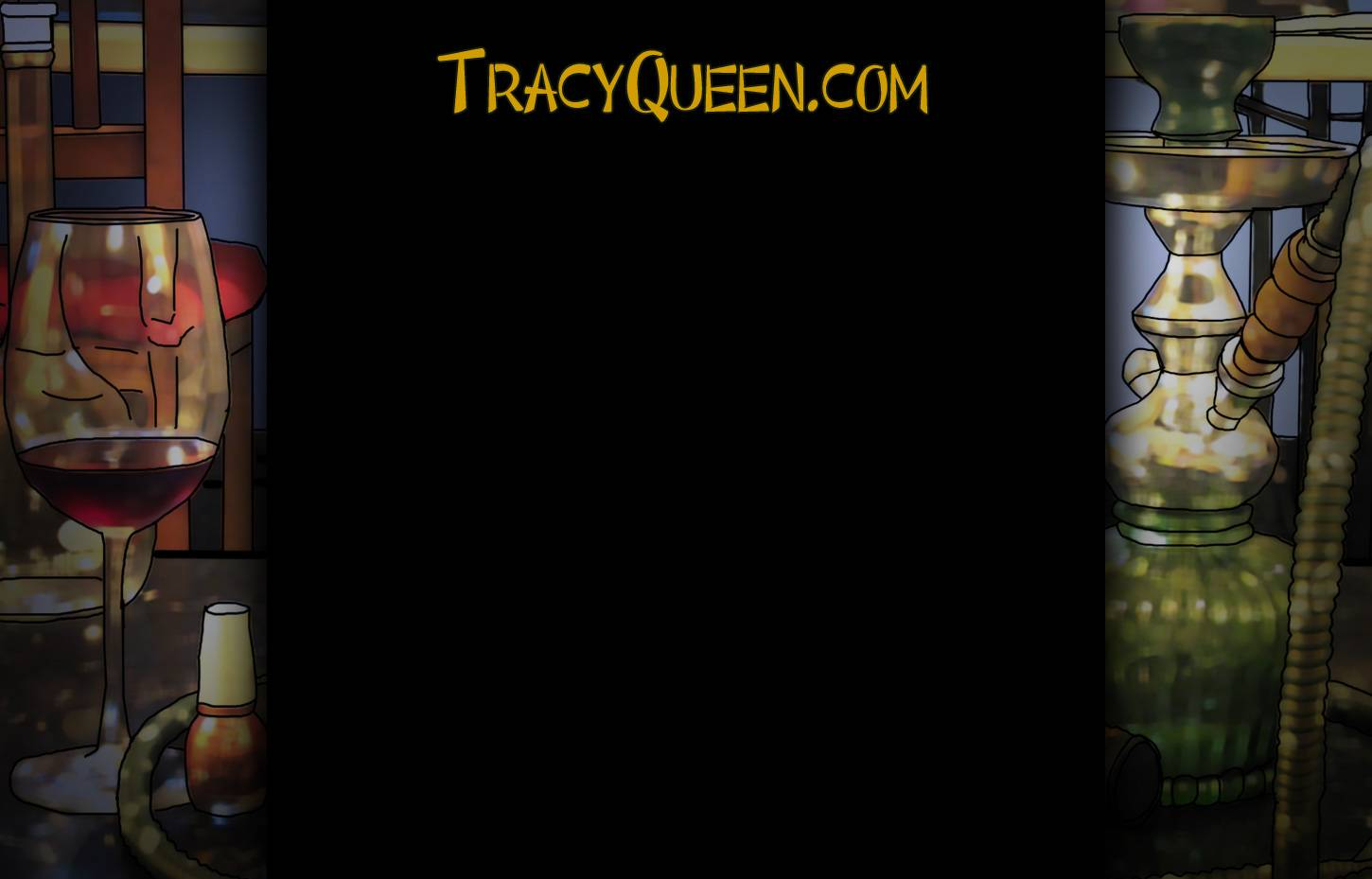Tracy Queen – Website background image