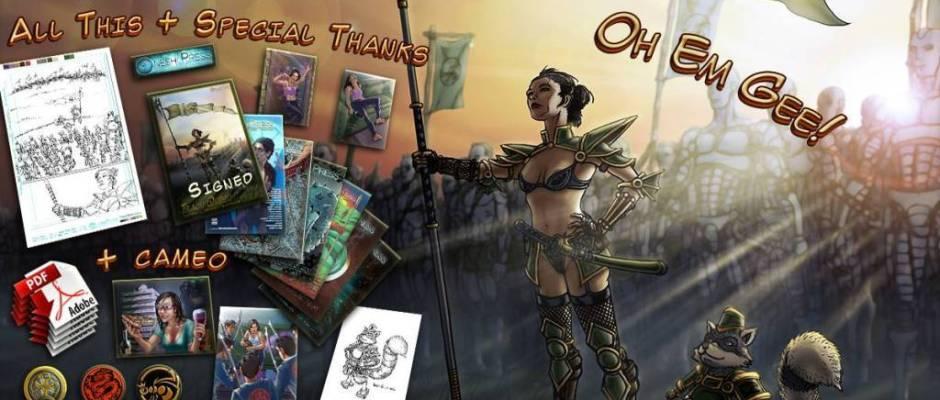 tracy queen kickstarter banner