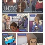 junction full page comic comicbook oneshi press justice anthology train station subway
