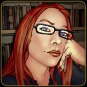 character bios - Tracy Queen Graphic novel bio pic of Elle