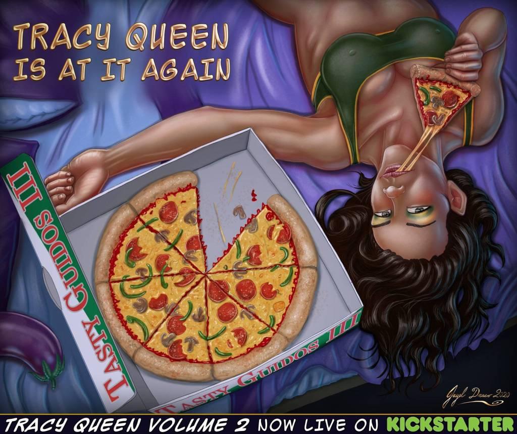 tracy queen pizza kickstarter