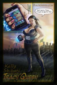 Kelly Shibari - Tracy Queen Cameo