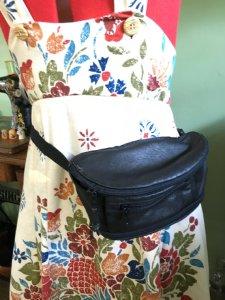 Leather Hip Pouch, Fanny Pack, Belt Purse, Festival Bag