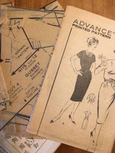 Rare Advance 9115 1960s Jackie O Suit Pattern