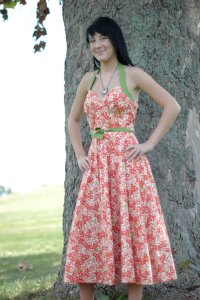 Sock Hop 1950s Inspired Dress by Tracy McElfresh