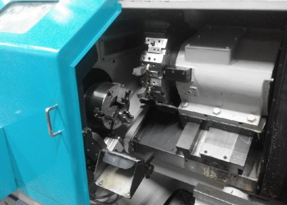 Used Industrial Machines | Takisawa T20| CNC Lathe with fixed tools