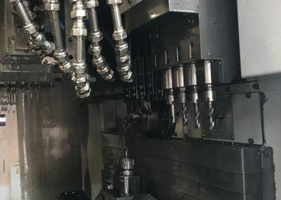 Makinate | Used HANWHA STL 32H Swiss type lathe M1701447029 9
