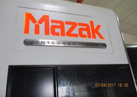 Makinate   Used Mazak Integrex i-200 x 1000 U multitasking lathe M1701932440 2