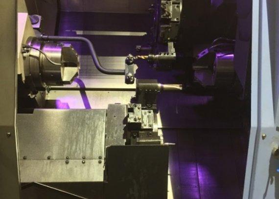 Makinate | Used DOOSAN PUMA TT 2500 SY Lathe with live tooling M1702013689 2