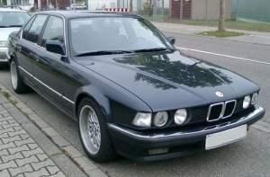 BMW 7 Series (E32) 735i, 735iL, 740i, 740iL, 750iL Service