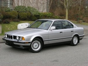 BMW 5 Series E34 525i, 530i, 535i, 540i, including Touring