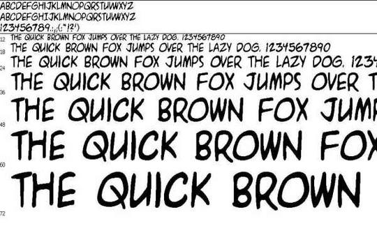 Pay for Tattoo Font: A.C.M.E. EXPLOSIVE (TRUE TPYE). File Data: