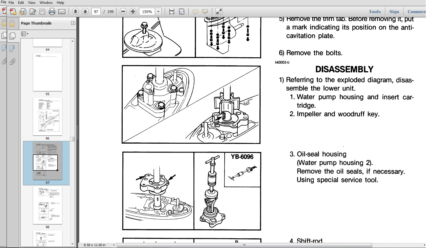 how to manually lower an outboard motor newmotorspot co rh newmotorspot co yamaha 9.9 outboard owners manual yamaha outboard owners manual