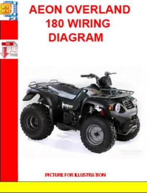 AEON OVERLAND 180 WIRING DIAGRAM  Download Manuals